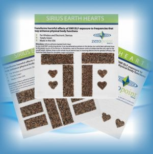 Zero Point Earth Hearts | EMF & Cell Phone Radiation Protection